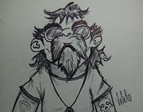 Sketchbook Bic  #1... 2013