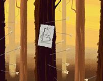 Ilustrações para Curta Animado