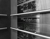 DISTORTED CARTOGRAPHY     Elevator Wall Art