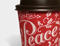 Second Cup Holiday Cups