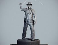 Indiana Jones Sculpt