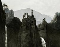 Misty highlands