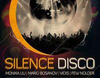 Silence disco Flyer