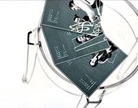 Classic Chairs Exhibition Invitation Card