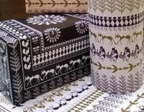 Customized Wrapping Paper // Warli Art