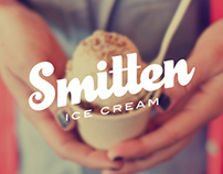 Smitten Ice Cream Rebrand