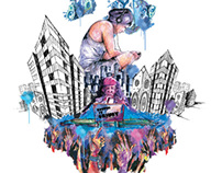 London Grime - AOI competition work 2014
