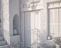 Mediterranean house (3D)