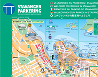 P-City Map Stavanger Norway