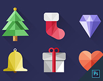 Christmas icons for free download :)