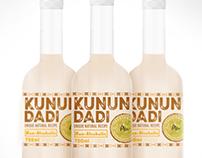 Unique recipe drink label design