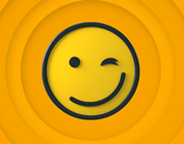 Smiley motion graphic