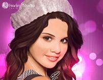 Selena Gomez | Digital Painting
