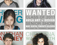 Avila University Senior Show 2011 Poster