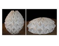 Interactive Origami Sculptures