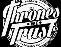 A project for Alexander Mansury x Thrones Clothing