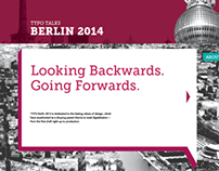 Berlin Typo Talks 2014 - Web Companion element.