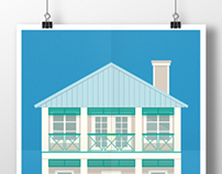 Beach Houses - ILLUSTRATION