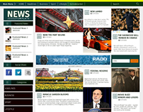News Wordpress Template