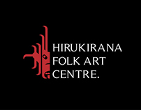 HIRUKIRANA FOLK ART CENTER - Brand Identity