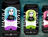 Olay Facial Wipes Redesign