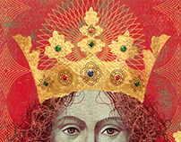 RICHARD II portrait -Cover  Penguin Monarchs