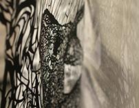 Hand-Cut Paper Creature 2