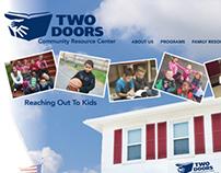 Two Doors Community Resource Center Website