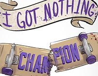 Fall Out Boy - Champion Illustration