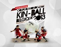 Coupe du Monde de Sport Kin-Ball - Belgique 2013