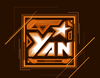 YanTV playing with logo