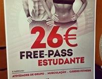 Actibody Fitness Center Free-Pass Student