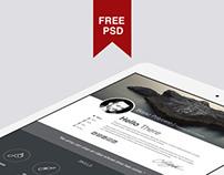 Polifoli   |   Free Psd  PORTFOLIO TEMPLATE