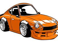 Custom and Classic Cars Signage