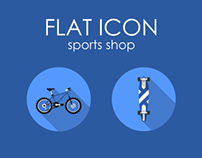 Flat Icon Sports Shop 128px