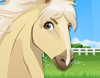 Horse Character Design