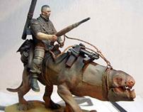 Monster rider sculpture 2010