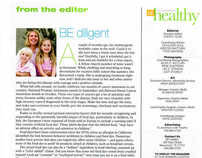 Editor's Letters for BE Healthy