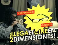 Campaña para el Festival de Cine de Cinemateca 2010