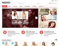 Fashion Nozza WordPress Theme