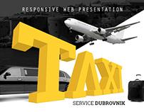 Taxi service Dubrovnik website