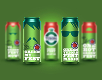 Tuborg Greenfest cans