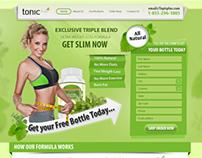 Tonic Plus Landing Page