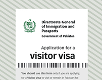 Government form | Visa