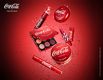 CocaCola x THEFACESHOP collaboration 2018