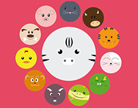 The Chinese Zodiac Calendar 2014