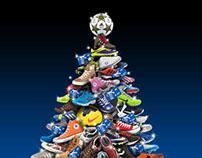 Auguri di Natale abbigliamento sportivo