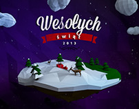 Merry Christmas - lowpoly