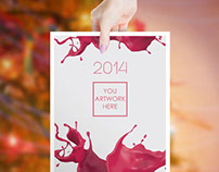 GemGfx 2014 Mockup and Print Ready Calendar (FREE)