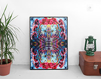 Client: Surrealist Poster & Mock up